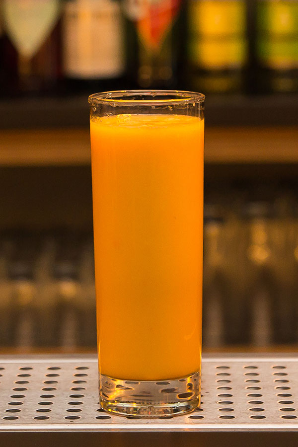 Homemade Orange & Ruby Grapefruit Juice